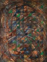 Big-bang&rule. 1984-2004  Oil canvas 61×80cm