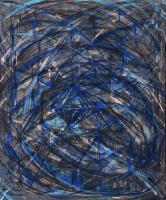 Like Giacometti. 1984-2004 Oil canvas 50×61cm