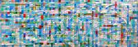 Like Klee. 2008 Oil canvas 24.5×70.5cm