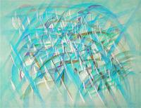 Like Wave. 2007 Acryl canvas 90×116cm
