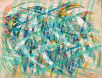 Repeatable. 1998-2008 Acryl paper 49.5×64cm