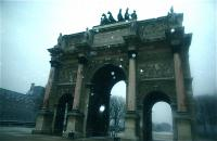 Arc de triomphe du Carrousel カルーゼルの凱旋門