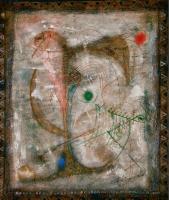 Bird's Melancholy 傷心 1978 Acryl canvas 53×46cm ⓒToshihiko Shibano