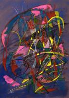 Space Fest  宙(そら)の集い 2006 Acryl Board 32×23cm ⓒToshihiko Shibano