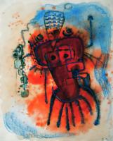 Transformation by Kafka カフカによる変身 1979 Paper 32×41cm ⓒToshihiko Shibano