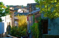 Center of village  村の中心部分 ⓒToshihiko Shibano 高台の中心部分から周囲を見下ろす