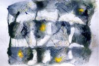 No12  Acryl Color-Ink Paper Pen  Paper   32×41cm  1984  ⓒToshihiko Shibano