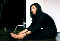 Diva of performance in June 6月公演の歌姫 堂園春衣さん。アマチュアとは思えぬ美声。ⓒToshihiko Shibano
