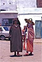 Market on Thursday 5 木曜市場(Khemis Anjra)男の衣装も独特なものがある ⓒToshihiko Shibano