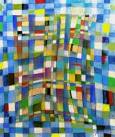 naughty  いたずらっぽさ 2010 Pastel  Paper53×45cm   ⓒToshihiko Shibano