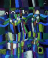 Monyomonyo もにょもにょ 2010 Pastel  Paper 53×45cm  ⓒToshihiko Shibano