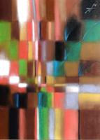 Temptation 誘われて 2011. Pastel  Paper 33×24cm.  ⓒToshihiko Shibano
