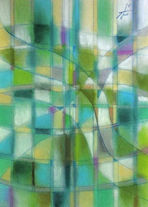 グランド・ゼロ3 Ground Zero 3  2011 Pastel  Paper  33×24cm ⓒToshihiko Shibano