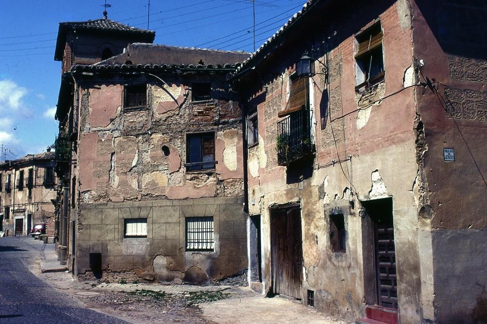 トレドの古い町並み2 Wall in Toledo 2    ⓒToshihiko Shibano