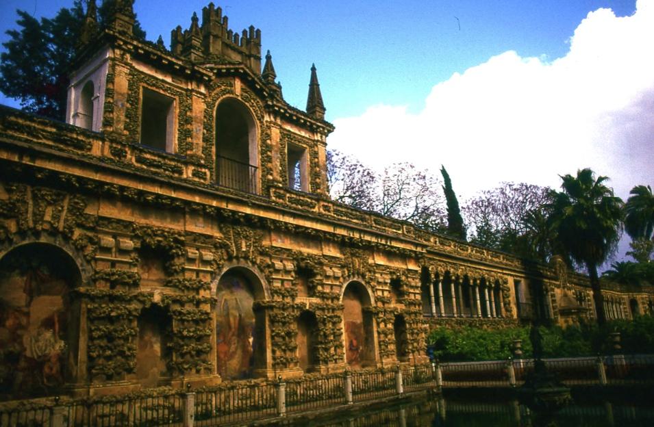 アルカサル宮殿 マーキュリーの庭 セビリア Alcazar de Sevilla   ⓒToshihiko Shibano