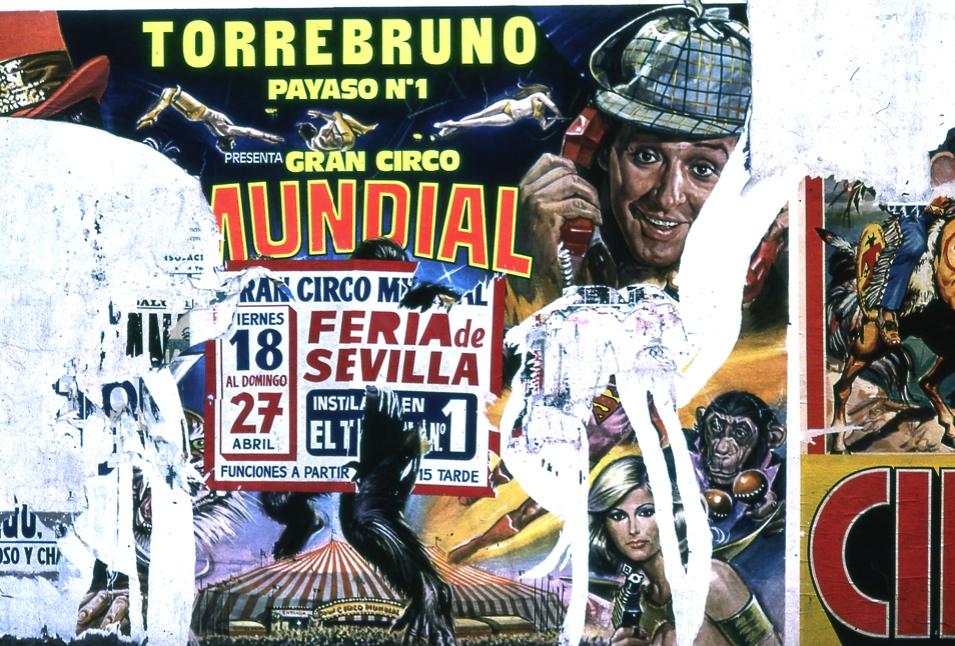 ポスター2  セビリア The poster 2  Sevilla  ⓒToshihiko Shibano