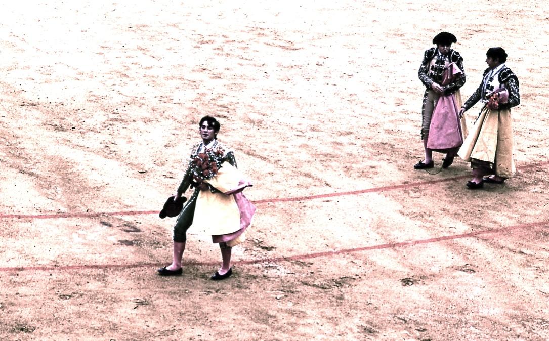 誇らし気なマタドール A proud Matador 殺し方が残酷だとブーイングを浴びせられる  ⓒToshihiko Shibano